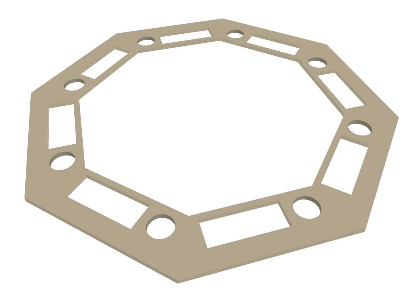 Octagon Poker Table Part 1 Plans And Materials Brian